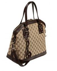 Gucci Charm Dome Gg Bag - Lyst