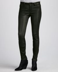 J Brand Forest Leather Super Skinny Pants - Lyst