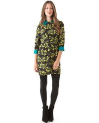 Milly Esther Combo Dress - Lyst