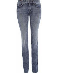 Notify Hellebora Midrise Straight leg Jeans - Lyst