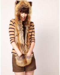 Spirit Hoods Spirithoods Red Fox - Lyst