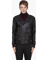 Surface To Air - Black Leather Gaspard Jacket - Lyst
