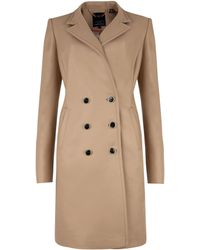 Ted Baker Francia Double Breasted Coat - Lyst