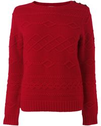 Boutique by Jaeger - Winnie Cable Jumper - Lyst
