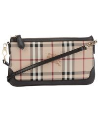 Burberry Brit - Haymarket Small Shoulder Bag - Lyst