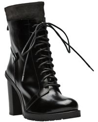 CoSTUME NATIONAL - Lace Up Boot - Lyst