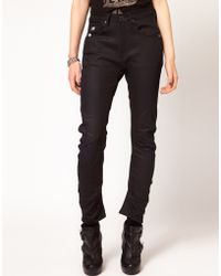 G-Star RAW Gstar Arc 3d Tapered Coated Skinny Jeans - Lyst