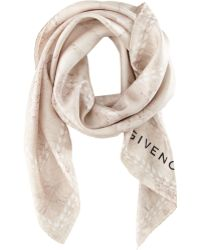 Givenchy Paillettes Paradise Scarf pink - Lyst
