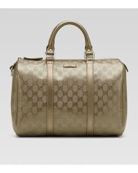 Gucci Joy Medium Boston Bag - Lyst