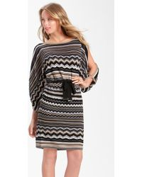 Laundry by Shelli Segal Split Sleeve Blouson Sweater Dress - Lyst