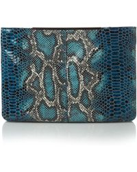 Mary Portas - Double Zip Feature Cross Body Bag - Lyst