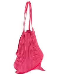 Pleats Please Issey Miyake - Pleated Twisted Shoulder Bag - Lyst