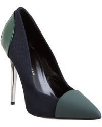 Proenza Schouler Combo Pointed Toe Pump - Lyst