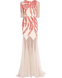 Saloni Ellen 34 Sleeveless Gown - Lyst