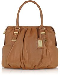 Badgley Mischka - Belina Sport Leather Bowler Bag - Lyst