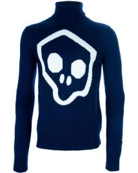 John Galliano - Skull Knit Jumper - Lyst