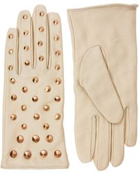 Love - Asos Leather All Over Stud Gs - Lyst