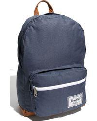 Herschel Supply Co. Men'S 'Pop Quiz' Backpack - Blue - Lyst