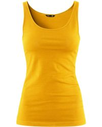 H&M Top yellow - Lyst