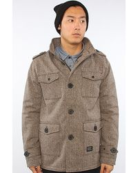 KR3W - The Manchester Og Jacket in Brown - Lyst