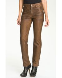 Not Your Daughter's Jeans Nydj Sheri Coated Skinny Jeans - Lyst
