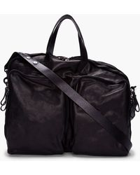 Marsèll - Black Three Compartment Bag - Lyst