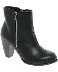 Asos Asos Arc Ankle Boots with Zip - Lyst