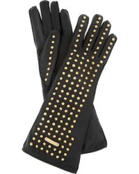 Burberry Prorsum | Studded Leather Gloves | Lyst