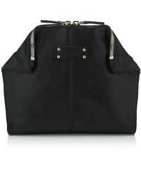 Alexander McQueen Manta Cosmetic Bag black - Lyst