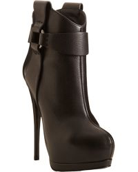 Giuseppe Zanotti Harness Strap Platform Ankle Boot black - Lyst