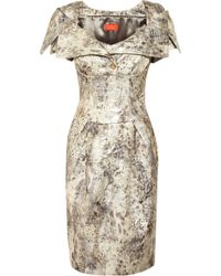 Vivienne Westwood Red Label Brocade Dress - Lyst