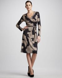 Bigio Collection - Abstractprint Wrap Dress - Lyst
