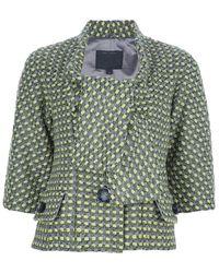 Marc Jacobs Woven Jacket - Lyst