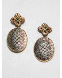 Stephen Dweck Gray Motherof_pearl Drop Earrings - Metallic