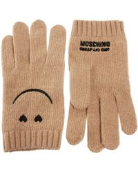 Boutique Moschino - Smiley Gloves - Lyst