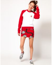 Lazy Oaf - Spaghetti Arms Skirt - Lyst