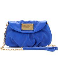 Marc By Marc Jacobs Classic Q Karlie Leather Mini Shoulder Bag - Lyst