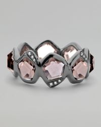 Ippolita - Pave Diamond Smoky Quartz Ring - Lyst