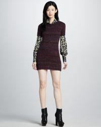 Rachel Zoe Kasia Sweater Dress - Lyst