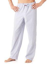 Calvin Klein Gray Loungewear Pants - Lyst