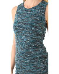 Cut25 By Yigal Azrouël Boucle Knit Dress - Lyst