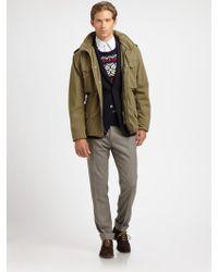 Gant Rugger Winter Flyer Parka Jacket - Lyst