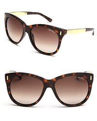 Jimmy Choo Sunglasses With Metal - Lyst