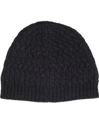 John Varvatos - Trellis Knit Hat - Lyst