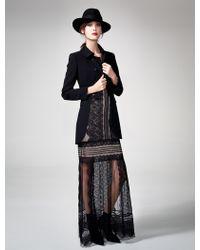 Alice By Temperley Long Lottie Dress  black - Lyst