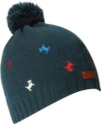Radley | Cecile Embroidered Dog Beanie with Bobble | Lyst