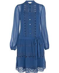 Temperley London Sleeved Moriah Dress - Lyst