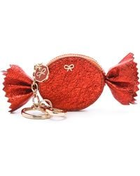 Anya Hindmarch Candy Coin Wallet red - Lyst