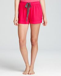Splendid Solid Voile Shorts - Lyst