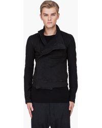 Gareth Pugh - Black Wrap Jacket - Lyst